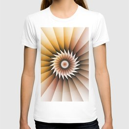 abstract background texture T-shirt