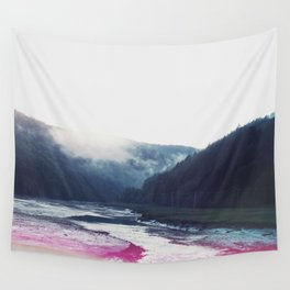 Low Tide in the Valley Wall Tapestry