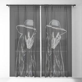 Bad Moon Rising Sheer Curtain