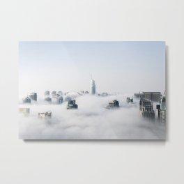 Next Stop, Cloud City Metal Print