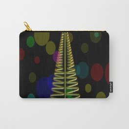 merry christmas polka Carry-All Pouch