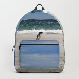 Penguins on the Beach Backpack