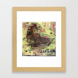 Permission Series: Divine Framed Art Print