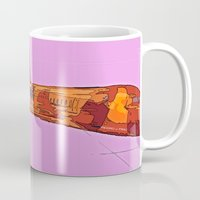 aviation Mugs featuring AVIATION by PALEOMODERN