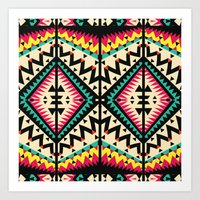 tribal Art Prints featuring Tribal by Ornaart