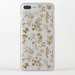 Summer herbs Clear iPhone Case