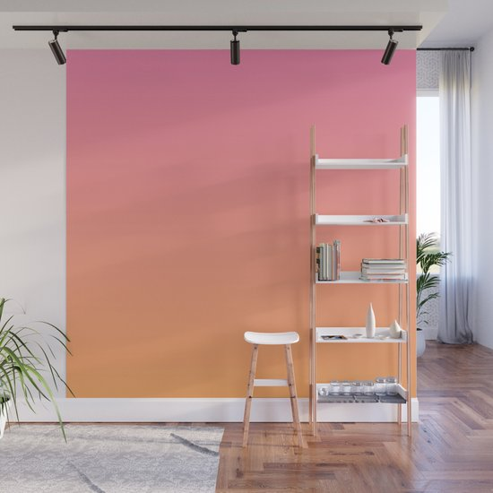 Pink & Orange Ombre by newwave