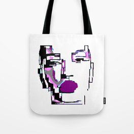 Android Pixelated Tote Bag