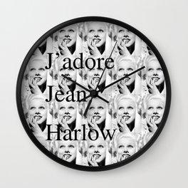 Jean Harlow Tote Wall Clock