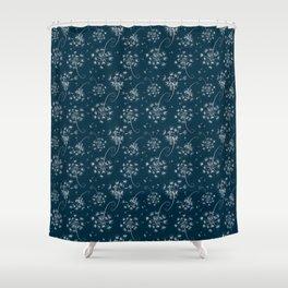 Fluffy dandelions Shower Curtain