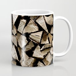 firewood pattern Coffee Mug