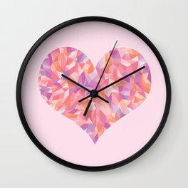 Glassheart Wall Clock