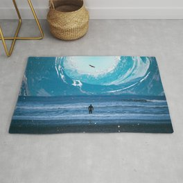 The Circle of Mountains Rug