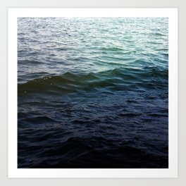 West Lake Waves Art Print