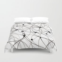 Abstraction lines Duvet Cover
