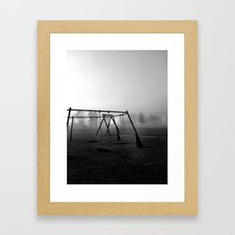 Let's play. Framed Art Print
