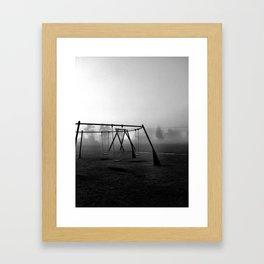 Let's play. Framed Art Print