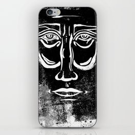 Face-Uno iPhone Skin