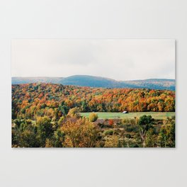 Vermont Views - 35mm Film Canvas Print