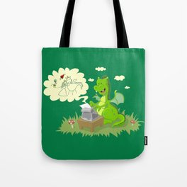 Dragon's Tale Tote Bag
