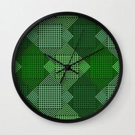 Op Art 102 Wall Clock