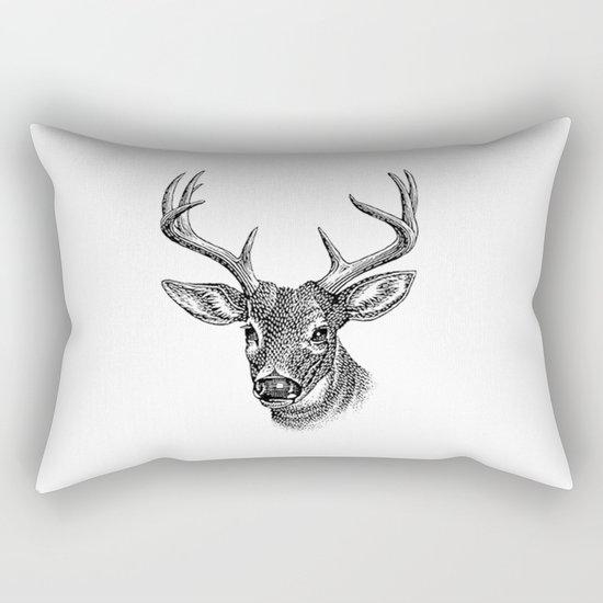 A deer 5 Rectangular Pillow