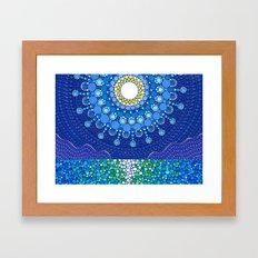 Full Moon Splendour Framed Art Print