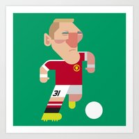 BS31 Mini | The Red Devils Art Print