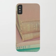 Book Lover iPhone X Slim Case