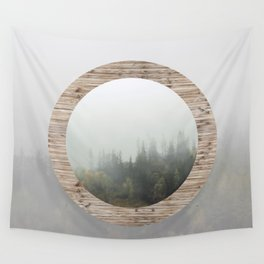 At the still point of the turning world. Wall Tapestry