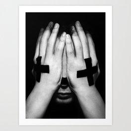 Limit X Art Print