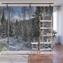 Winter forest - Carol Highsmith Wall Mural