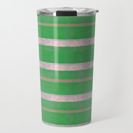 serape simplified in green Travel Mug