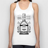 lotr Tank Tops featuring Lord of the Rings Rivendell Vineyards Vintage Ad by Barrett Biggers
