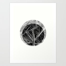Abstract View Art Print