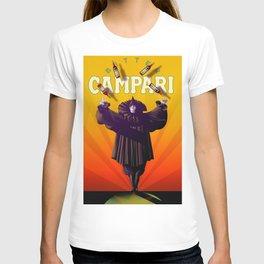 Vintage Cordial Bitter Campari 'Pagliacci' Advertisement Poster T-shirt