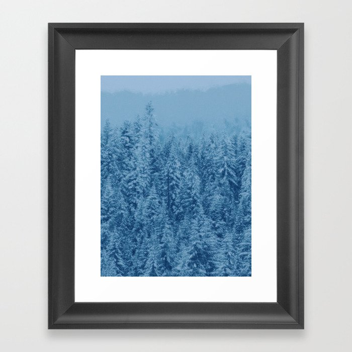 Giant forest Framed Art Print