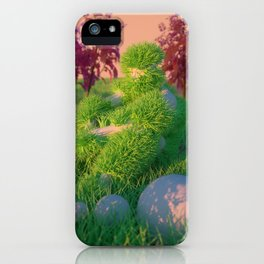 BED/HEAD iPhone Case
