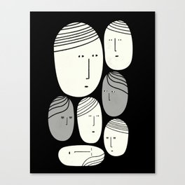 FACCE Canvas Print