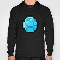 8bit pixelated diamond Hoody