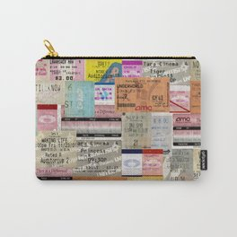 Movie Tickets Carry-All Pouch