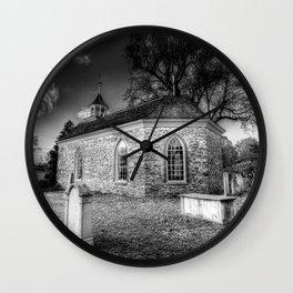 Old Dutch Church Of Sleepy Hollow Wall Clock