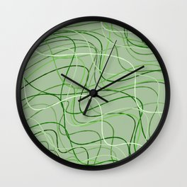 Nature lines Wall Clock