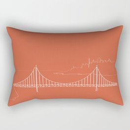 San Francisco by Friztin Rectangular Pillow