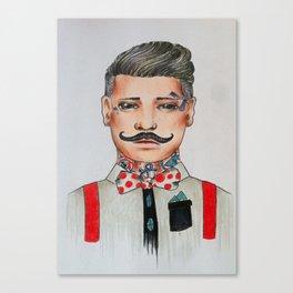 Barber Trad Canvas Print
