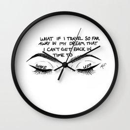 Dream Travel Wall Clock