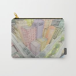 Three Points Carry-All Pouch