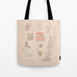 Brooklyn Pieces 1 Tote Bag