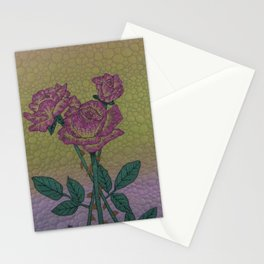 Roses with Thorns Stationery Cards