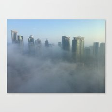 Mystical Morning Fog Canvas Print